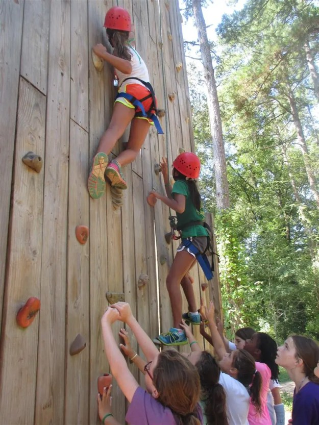 Wall~055-Kensie_and_Allison_are_excellent_climbers