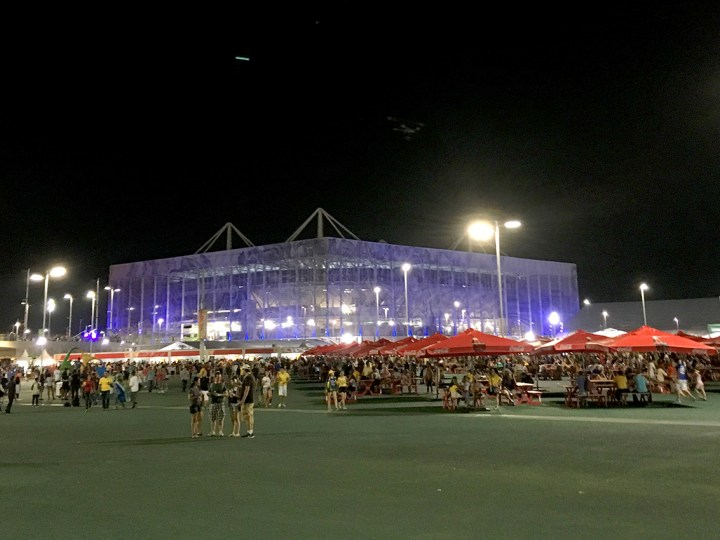 Rio Olympic Parc Acquatics stadium