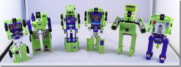 G1 Constructicon + Crazy Devy Devastator Upgrade Kits (3/6)