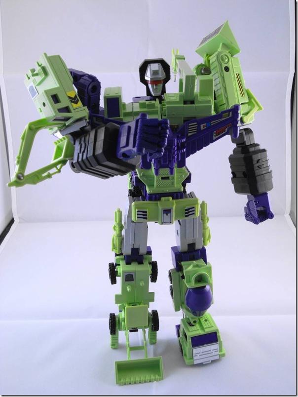 G1 Constructicon + Crazy Devy Devastator Upgrade Kits (6/6)