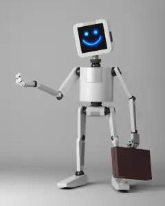 evil robot steals punters money