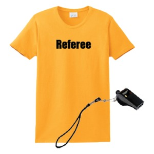 Referee 2 Piece Package $13.00