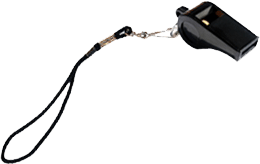 Referee Whistle & Lanyard $2.00