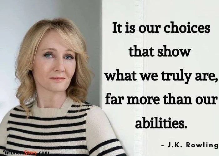 jk rowling famous quotes