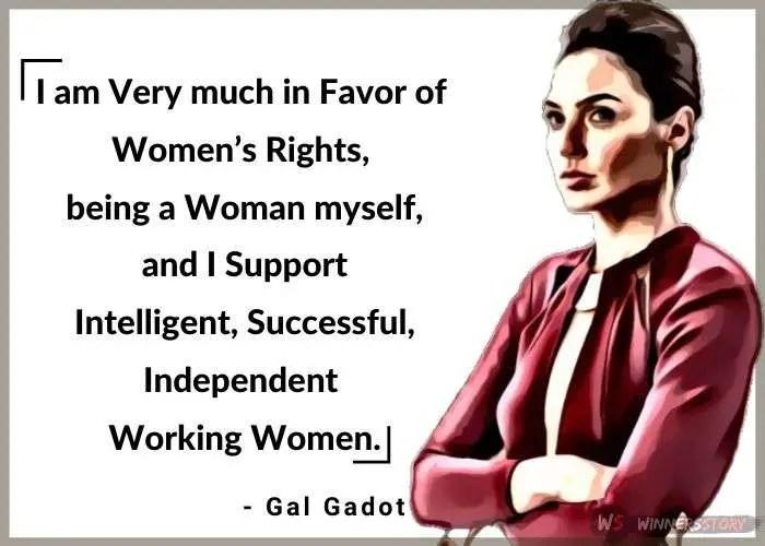 10-wonder woman gal gadot quotes