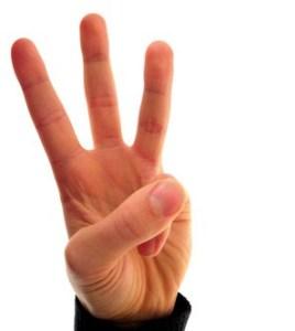 De alternatieve kroning, en waarom je drie vingers in de lucht moet steken.