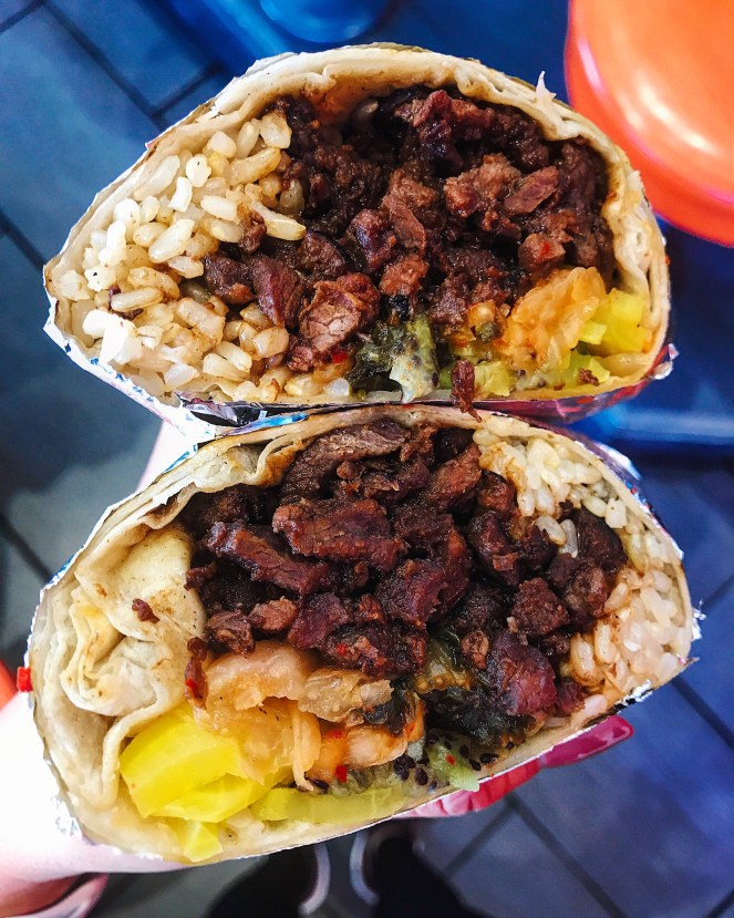 HRD Beef Bulgogi Burrito