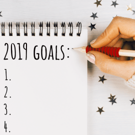 New Year's Resolutions/Goals: 5 Tips to Stay the Course