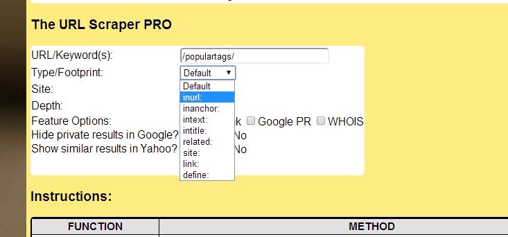 Social Bookmarking With URL Scraper PRO | Winning Blog Tactics