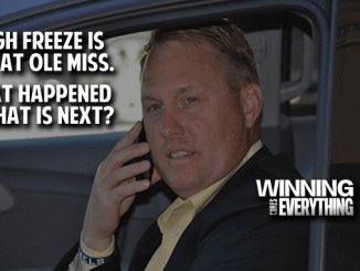Hugh Freeze on Phone