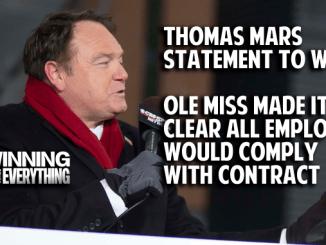 Thomas Mars statement