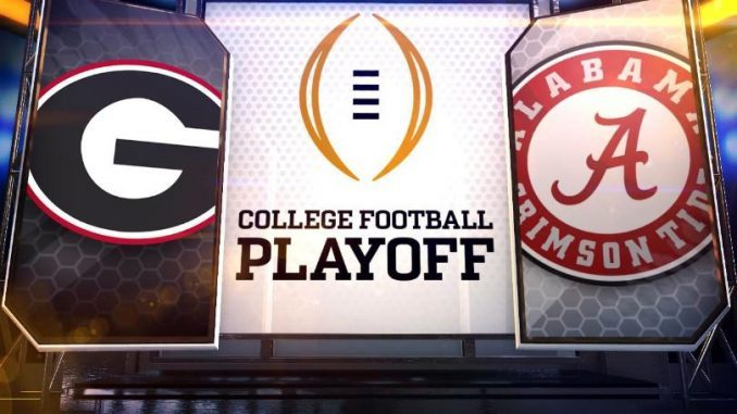 Alabama vs Georgia National Championship Game data predictions