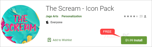 The Scream Icon Pack Giveaway