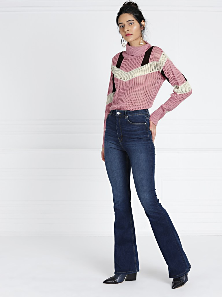 Turtleneck Tops by Myntra