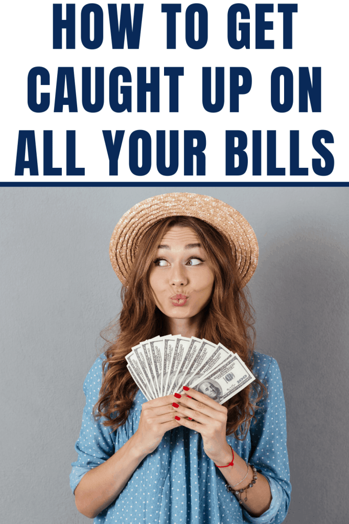 Are you behind on your bills? Check out these helpful tips to get you caught up on your bills this month.