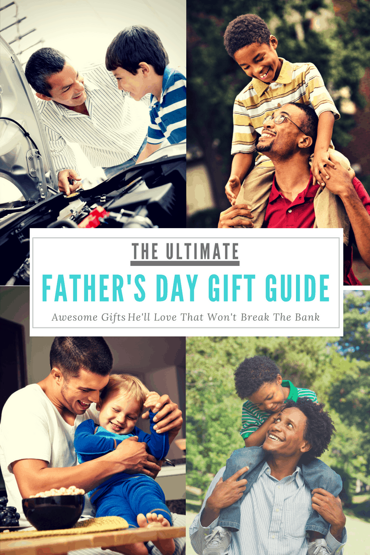 A first-time father shares father's day gift ideas for kids, spouses, parents, etc.
