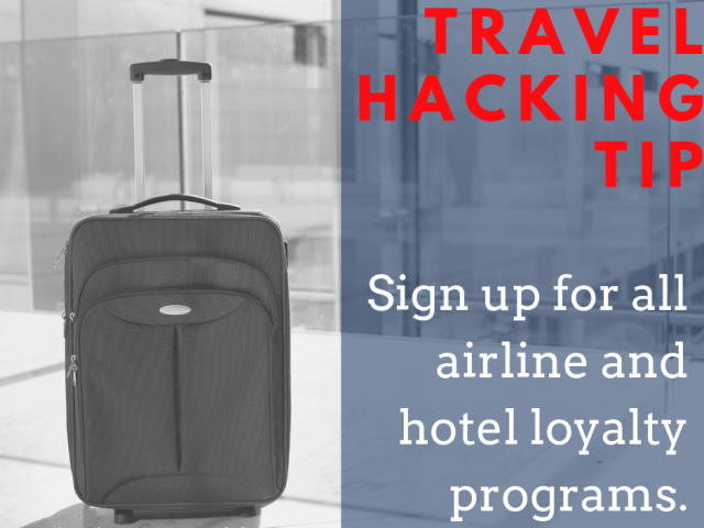 Ready to start travel hacking? Use this tip from the ultimate travel hacking guide to get started.