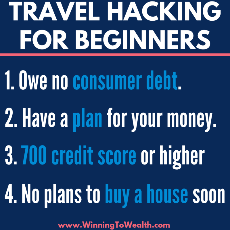 Ready to start traveling hacking? Make sure travel hacking is right for you by following these guidelines for beginners