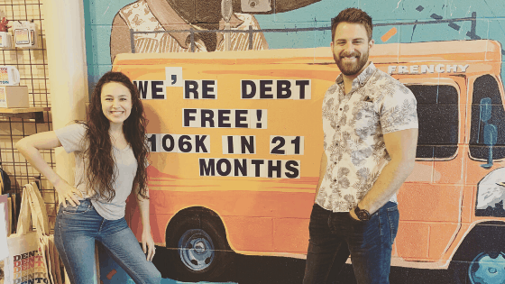 Madison and Sky McClure paid off 106,000 worth of debt in only 16 months. Here's how!