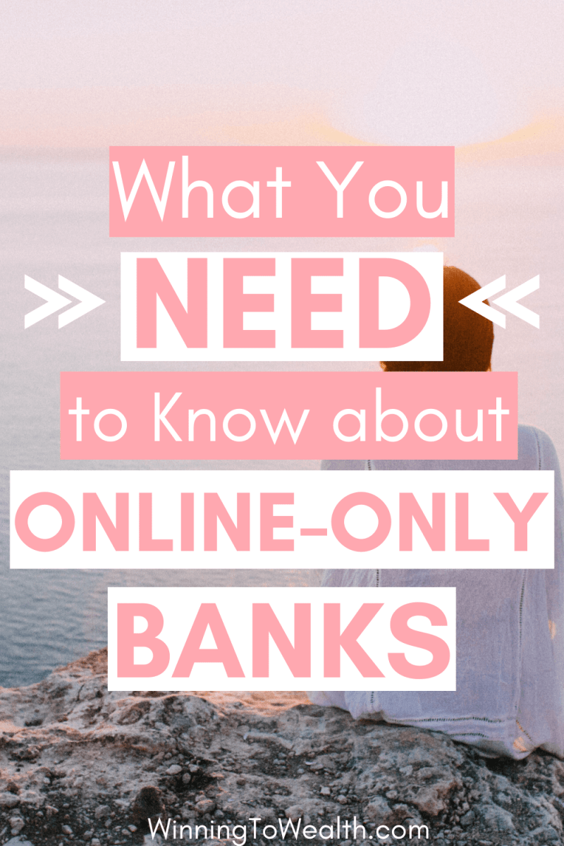 Are onlne banks safe? How do you open an online bank account? What about a high-yield savings account? I answer these questions and more here.