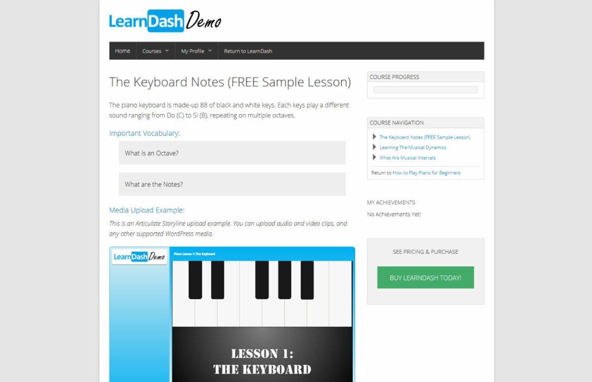 LearnDash Course