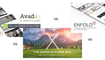Avada, X Theme, or Enfold - The Three Most Popular Multipurpose WordPress Themes on ThemeForest: Compared