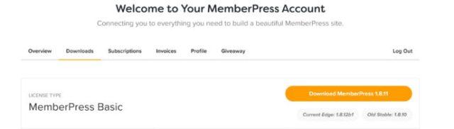 MemberPress vs WP Courseware: MemberPress download