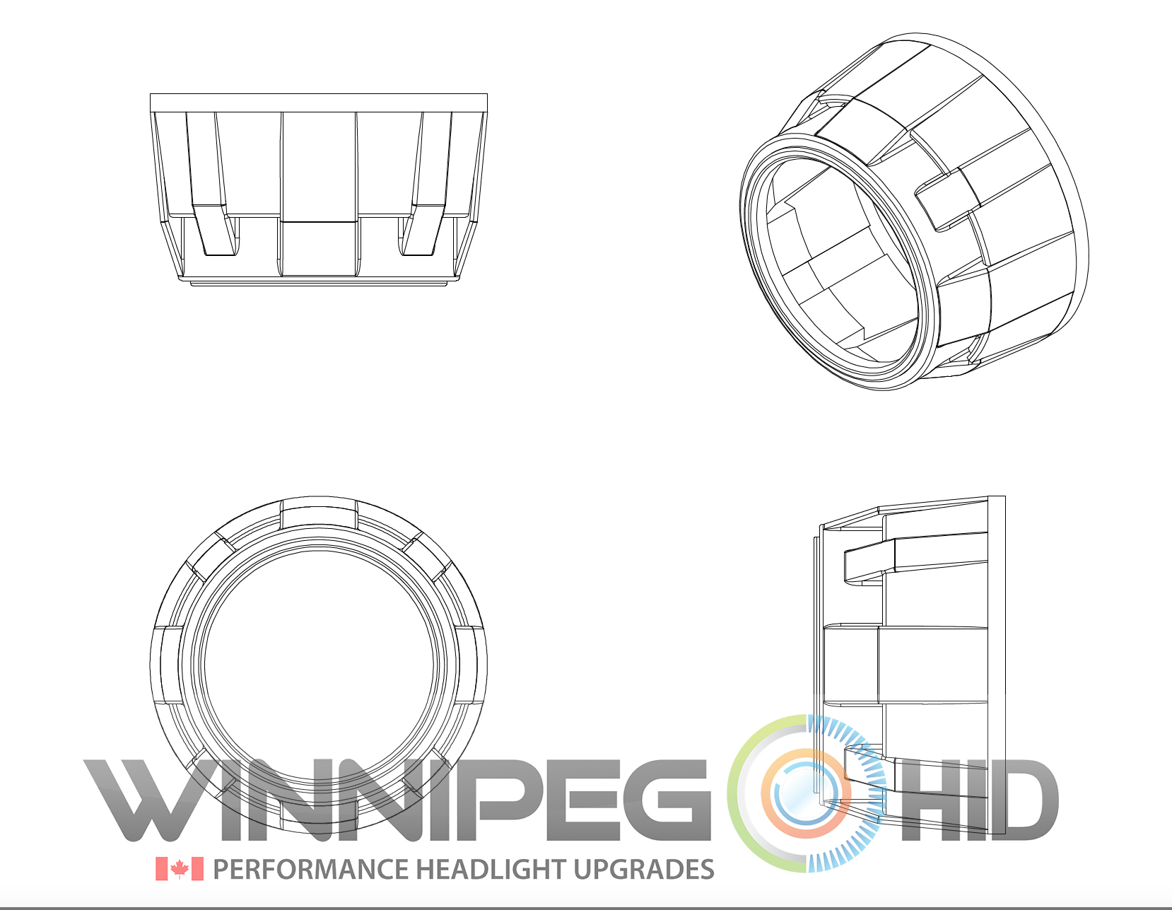 Mini Gatling Gun Winnipeg Hid