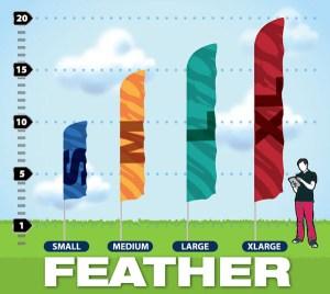 Winnipeg Flags Feather Style