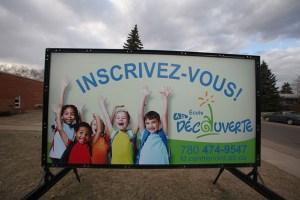 Winnipeg School Portable Signs New
