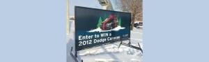 Winnipeg mobile portable signs