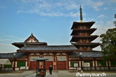 tennoji temple japan