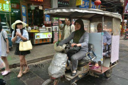 Xian China's Muslim street Xian