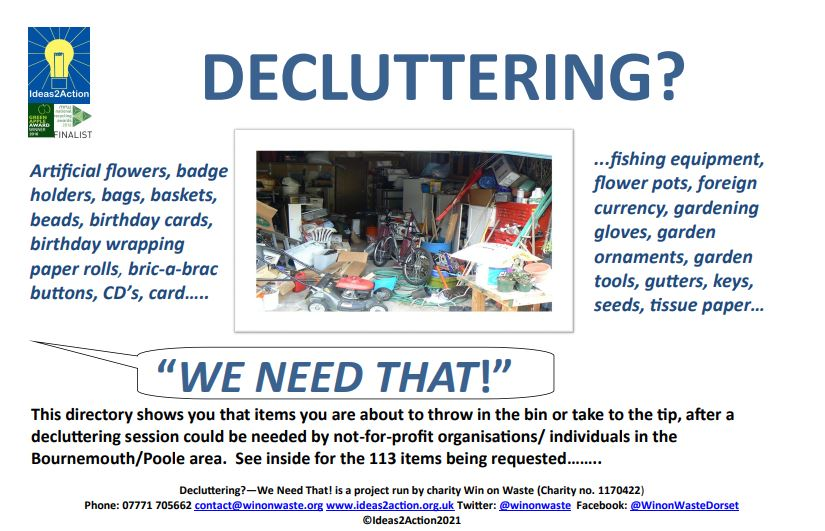 Link to our Decluttering Directory