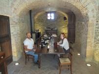 Wine tasting at Pecchenino with winemaker Orlando Pecchenino in Piedmont