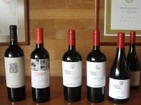The wines!