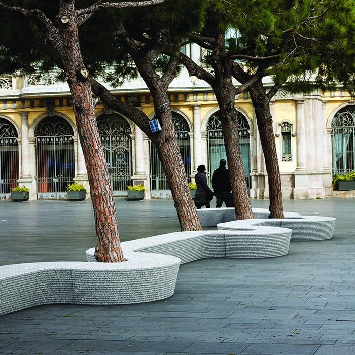 Win'Ovatio équipements urbain : concepteur d'espaces ludiques, sportifs et aménagement urbain en Provence et occitanie - Mobilier urbain béton