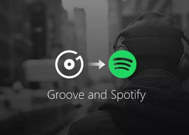 Groove Music Spotify