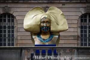 Photographies du Retour de 10 Statues de coiffes d'Alsaciennes 2016 par © Hatuey Photographies