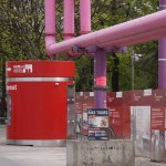 Photographies à Berlin, Allemagne, avril 2015, Pink Pipe line, tuyaux roses by Hatuey Photographies