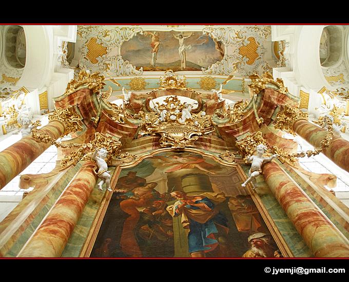 Eglise de Wies,Baviere Allemagne par © Hatuey Photographies