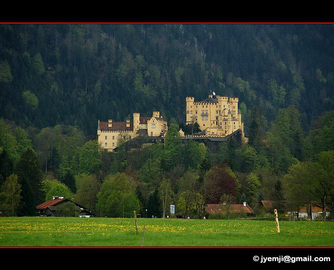 Chateau de HohenSchwangau, Baviere Allemagne par © Hatuey Photographies
