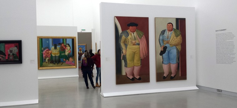 Exposition Botero au Musee Wurth par © Hatuey Photographies