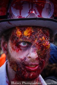 Photographies en Alsace, Zombie Walk Strasbourg septembre 2014 by © Hatuey Photographies