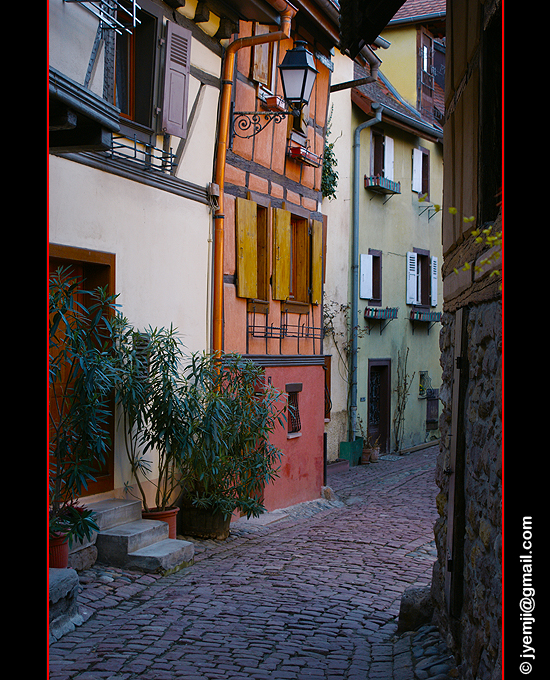 Photographies d'Alsace, Village d'Eguisheim par © Hatuey Photographies