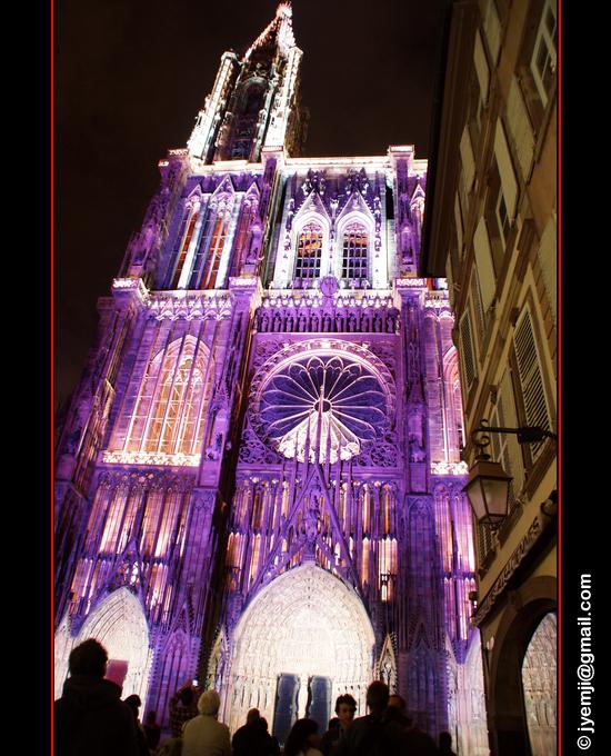 Photographies des Illuminations de la Cathédrale de Strasbourg par © Hatuey Photographies