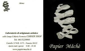 Papiermache.it, créateur de masques vénitiens