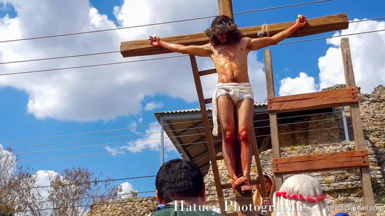 Passion du Christ, Acanceh Mexique,Peninsule du Yucatan, Yucatan peninsula, Photographies, by © Hatuey Photographies