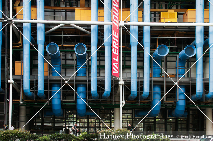 Centre Beaubourg Paris . Photographies de Paris par © Hatuey Photographies
