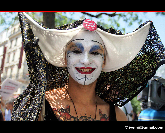 Photographies de la Marche des Prostituées le 02 juin 2012 (Paris) par © Hatuey Photographies